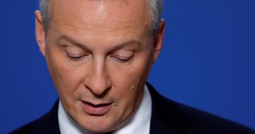 Il ministro delle Finanze francese Bruno Le Maire